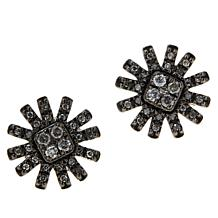 Colleen Lopez .25ctw Colored Diamond Sunburst Stud Earrings