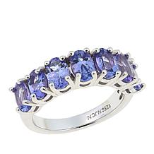 Colleen Lopez 7-Stone Gemstone Sterling Silver Band Ring