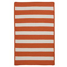 Colonial Mills Stripe-It Tangerine Rug