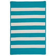 Colonial Mills Stripe-It Turquoise Rug