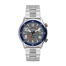 Columbia Men's Outbacker Florida Gators Stainless Steel Bracelet Watch