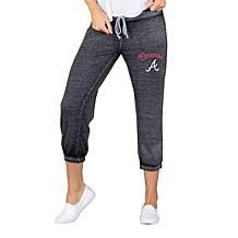 Concepts Sport Atlanta Braves Women's Knit Capri Pant