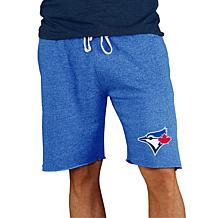 Concepts Sport Mainstream Men's Knit Short - Blue Jays