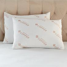 Concierge Collection Copper Pillow 2-pack