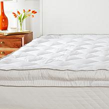 Concierge Collection Diamond Skirt Mattress Pad