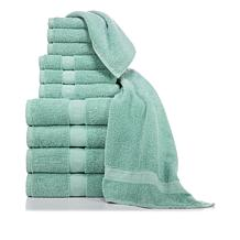 Concierge Rx Clean Comfort 100% Cotton 12-piece Towel Set