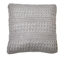 """Country Living Home Collection 18"""" x 18"""" Crochet Decorative Pillow"""