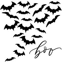 "Courtside Market Boo Bats 35""x35"" Decals"