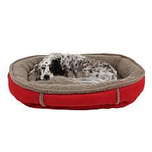 CPC Faux Suede Comfy Cup Pet Bed - Medium