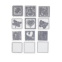 Crafter's Companion Create-A-Card Nature Patchwork Die Sets