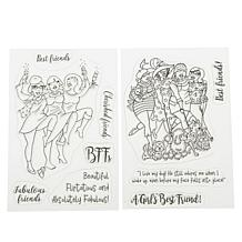 Crafter's Companion Fabulous Friends Stamps