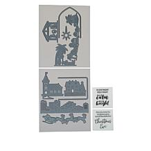 Crafter's Companion Gemini Scene of Light Stamp and Die Set