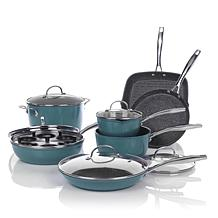 C.stone 13pc Nonstick Cook Set Red