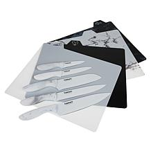 Cuisinart 14pc Ceramic-Coated Knife Set with Cutting Boards