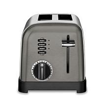 Cuisinart CPT-160BKS 2-Slice Metal Classic Toaster - Black/Stainless