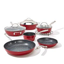 Curtis Stone 10pc Cookware Set Stngry