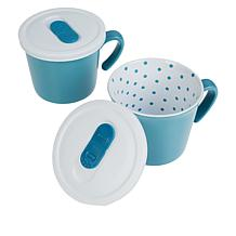 Curtis Stone 2-piece Mug Set with Lids in Gift Boxes