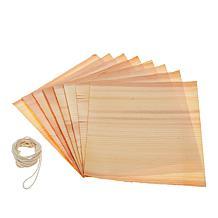 Curtis Stone 8-piece Set of Cedar Wraps