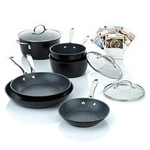 Curtis Stone Dura-Pan 9pc Forged Nonstick Cookware Set