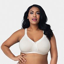 Curvy Couture Cotton Luxe Wire-Free Bra