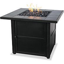 D & H Uniflame LP Steel Propane Fire Pit Table