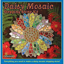 Daisy Mosaic Stepping Stone Kit
