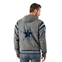 fd43c45d0 ... Dallas Cowboys Hardball Reversible Hooded Jacket