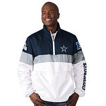 Dallas Cowboys Men's No Huddle Packable Jacket