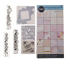 David Tutera™ for Sizzix® Greetings Stamps and Dies Set