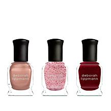 Deborah Lippmann Champagne Kisses 3pc Gel Lab Pro Set