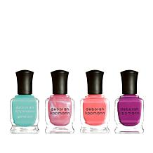 Deborah Lippmann On The Bright Side Gel Lab Pro 4pc Set