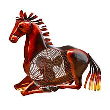 DecoBREEZE 2-Speed Horse Figurine Fan