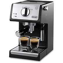 DeLonghi 15-Bar Espresso/Cappuccino Maker-Blk/Stnls Stl