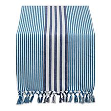 "Design Imports 14"" x 72"" Stripes Table Runner"