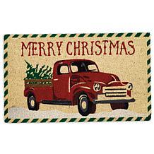 Design Imports Merry Christmas Truck Doormat