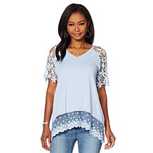 Dg Crochet Lace Top