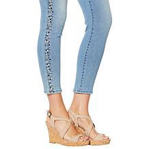 3f952be6 ... DG2 by Diane Gilman Virtual Stretch Studded Skinny Ankle Jean - Basic  ...