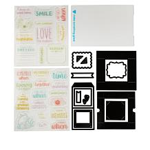 Diamond Press Photo Memory Box Stamps and Dies