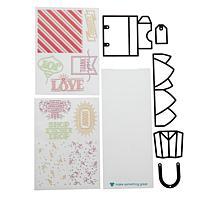 Diamond Press Shopping Bag Pop-Up Stamp and Die Set