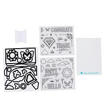 Diamond Press Spinning Pop-Up Card-Making Stamp and Dies