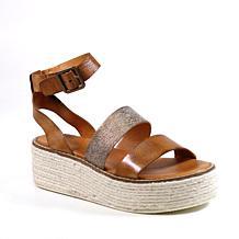 Diba True Day Line Leather Platform Sandal