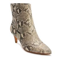 Dolce Vita Deedee Leather Pointed-Toe Bootie