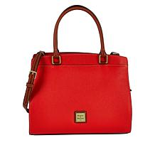 Dooney & Bourke Blair Pebble Leather Satchel
