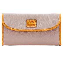e05df9b4ee5ce Dooney & Bourke Patterson Continental Leather Clutch