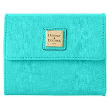 Dooney & Bourke Saffiano Leather Small Flap Wallet