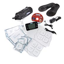 DR-HO's Pain Therapy System Pro w/Foot Relief Pads & 20 Adhesive Pads