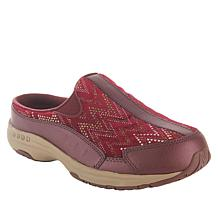 easy spirit Leather and Velvet Traveltime Clog