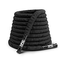 Epic Fitness Sleeved 3 Strand Twist Battle Rope