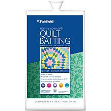Fairfield Low-Loft, Bonded-Polyester Batting - Queen