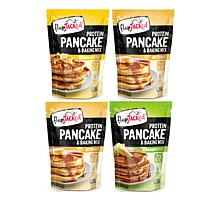 FlapJacked 4-pack Protein Pancakes and Baking Mixes